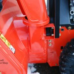 Ariens Compact 24 Snow Blower Left Close Up