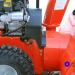 Ariens Compact 24 Snow Blower Right Close Up