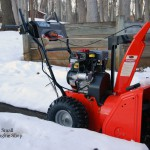 Ariens Compact 24 Snow Blower Right Side