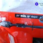 Ariens Compact 24 Snow Blower Scraper Blade