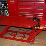 Motorcycle Lift With Scissor Jack