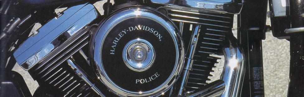 Harley Davidson FXRP Pursuit Glide (Police Motorcycle)