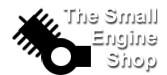 This is the logo for The Small Engine Shop.